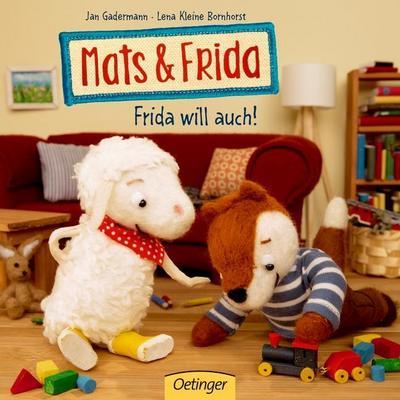 Mats & Frida. Frida will auch!
