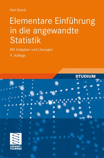 Elementare Einführung in die angewandte Statistik