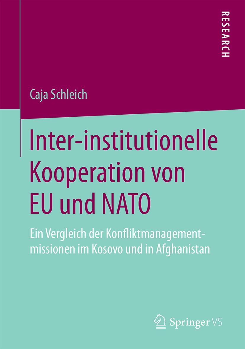 Inter-institutionelle Kooperation von EU und NATO Caja Schleich