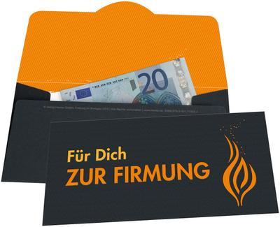 Für dich zur Firmung; Umschlag für ein Geldgeschenk; Deutsch; vierfarbig