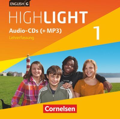 English G Highlight, Hauptschule 5. Schuljahr, Audio-CDs (+MP3), Lehrerfassung