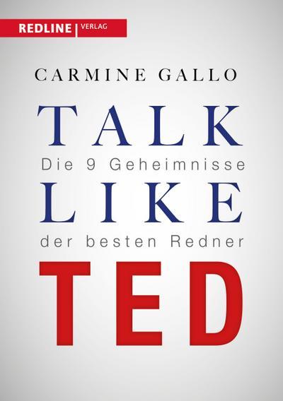 Talk like TED