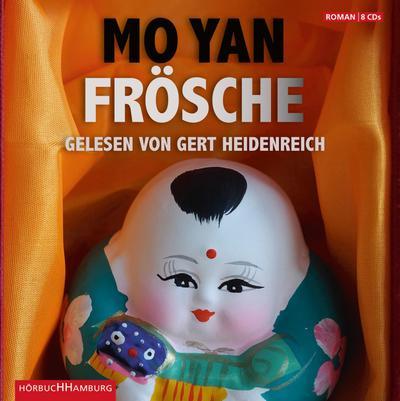 Frösche, 8 Audio-CDs