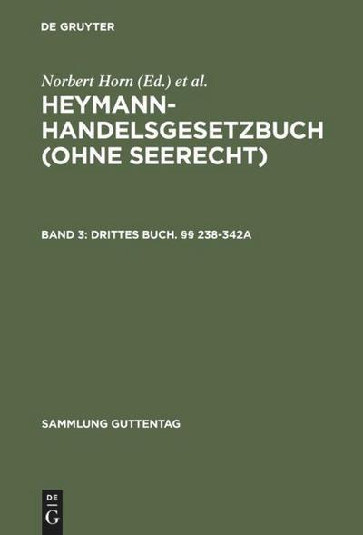 Drittes Buch. §§ 238-342a