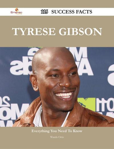 Tyrese Gibson 115 Success Facts - Everything you need to know about Tyrese Gibson