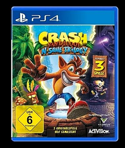 Crash Bandicoot - N.Sane Trilogy (PlayStation PS4)