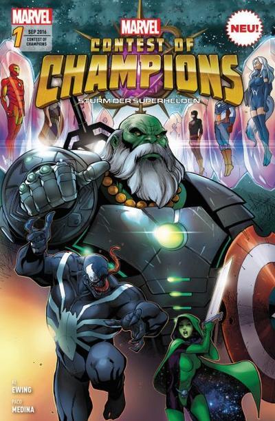 Contest of Champions - Sturm der Superhelden