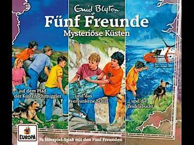 Fünf Freunde - 3er-Box 34. Mysteriöse Küsten