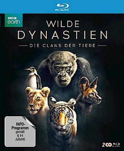 Wilde Dynastien - Die Clans der Tiere, 2 Blu-ray