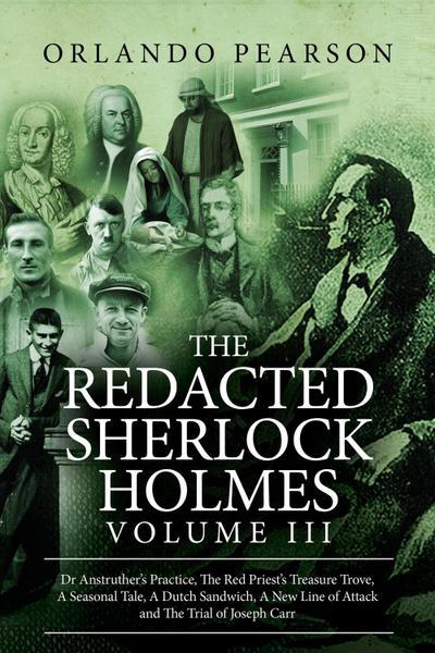 Redacted Sherlock Holmes - Volume 3