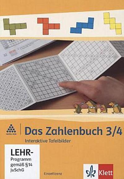 Das Zahlenbuch. 3. und 4.Schuljahr. Tafelbilder. Einzellizenz. Neubearbeitung