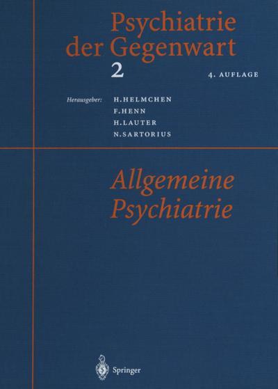 Psychiatrie der Gegenwart 2