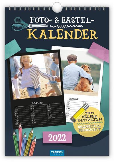 Foto- und Bastelkalender A4 2022