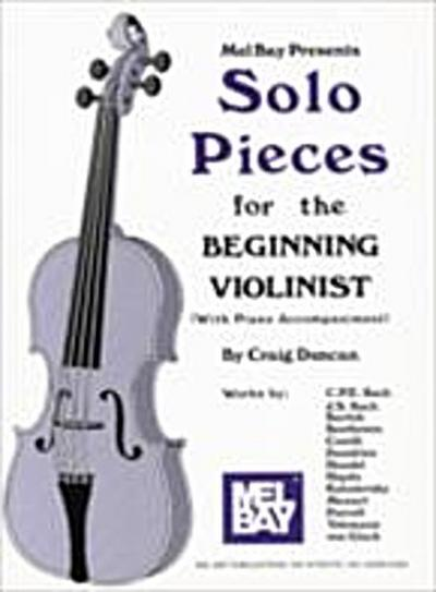 Solo Pieces for the Beginning Violinist