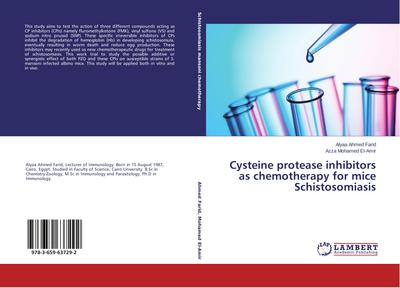 Cysteine protease inhibitors as chemotherapy for mice Schistosomiasis