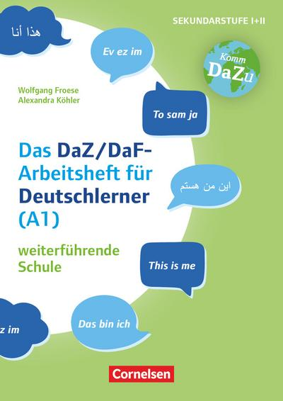"""""""Das bin ich"""" - das DaZ/DaF Arbeitsheft für Deutschlerner (A1) weiterführende Schule"""