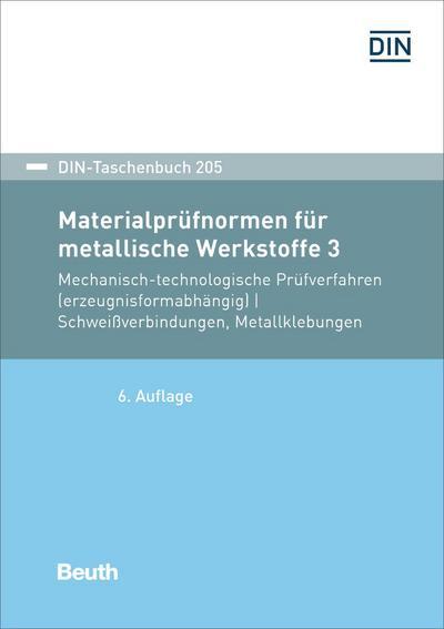 Materialprüfnormen für metallische Werkstoffe 3