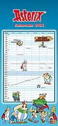 Asterix Familienplaner 2018