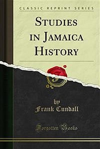 Studies in Jamaica History