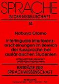 Interlinguale Interferenzerscheinungen im Ber ...