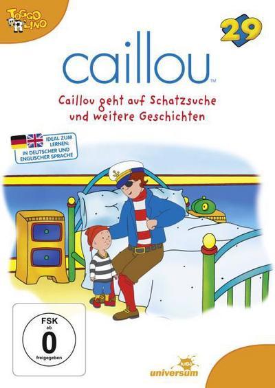 Caillou 29: Caillou geht auf Schatzsuche und weitere Geschichten - Episode 153 - 155