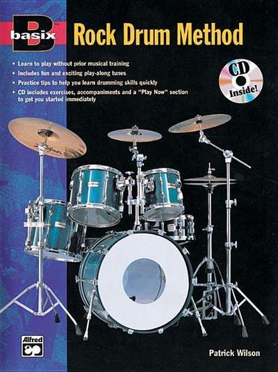 Basix Rock Drum Method: Book & CD
