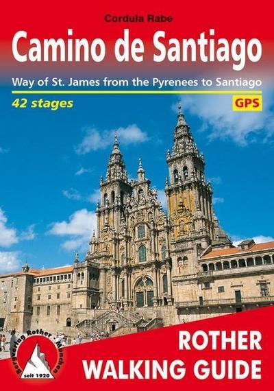 Camino de Santiago (Spanischer Jakobsweg - englische Ausgabe)