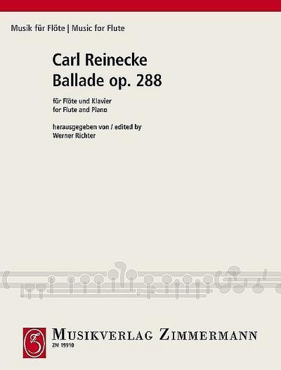 Ballade op. 288, Flöte und Klavier