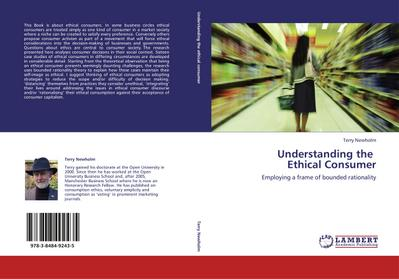 Understanding the   Ethical Consumer
