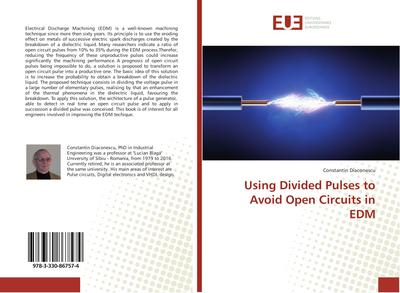 Using Divided Pulses to Avoid Open Circuits in EDM