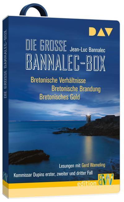 Die große Bannalec-Box. Hörbücher auf USB-Stick