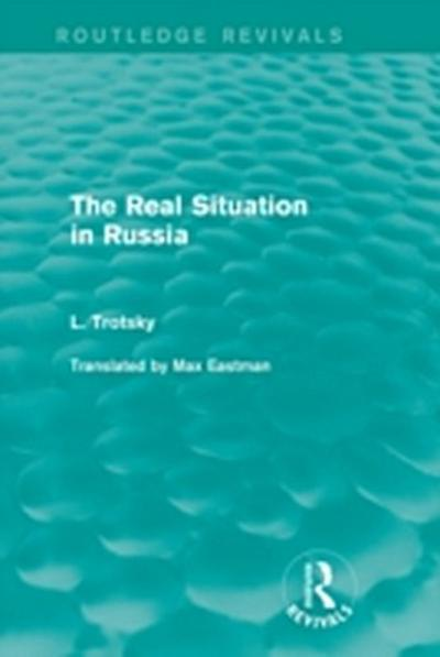 Real Situation in Russia (Routledge Revivals)