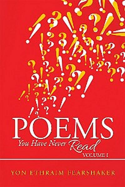 Poems You Have Never Read