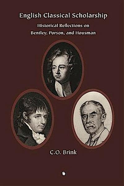 English Classical Scholarship