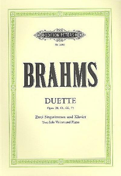 Duette op. 20, 61, 66, 75