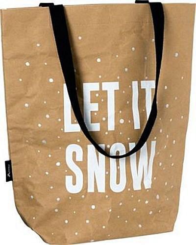 Tasche Snow Waschbares Kraftpapier 40 x 15 x 45 cm