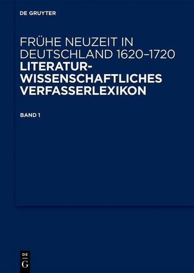 Frühe Neuzeit in Deutschland. 1620-1720. Band 1