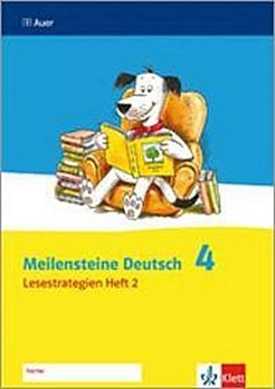 Meilensteine Deutsch Lesestrategien, 4. Schuljahr. H.2