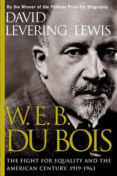 W. E. B. Du Bois, 1919-1963