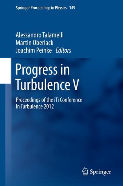 Progress in Turbulence V