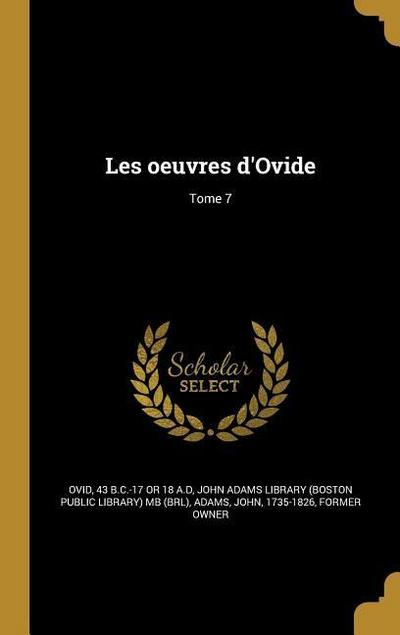 FRE-LES OEUVRES DOVIDE TOME 7