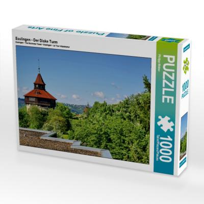 Esslingen - Der Dicke Turm (Puzzle)