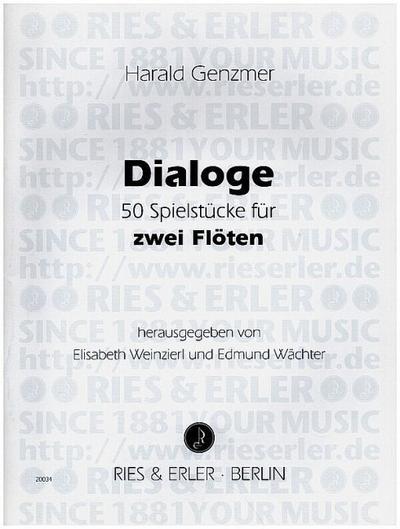 Dialoge (+CD) 50 Spielstückefür 2 Flöten