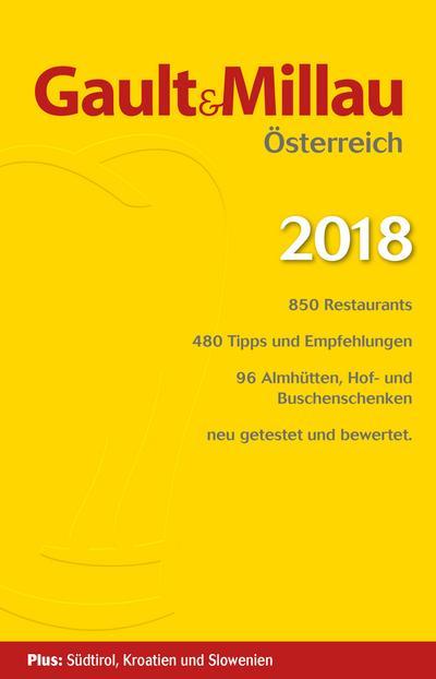 Gault&Millau Österreich 2018: Restaurant- und Weinguide