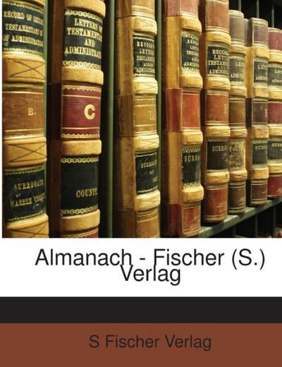 Almanach - Fischer (S.) Verlag