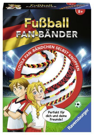 DFB WM Fanbänder; Deutsch; Achtung. Dieses Spielzeug hat funktionsbedingte scharfe Spitzen.