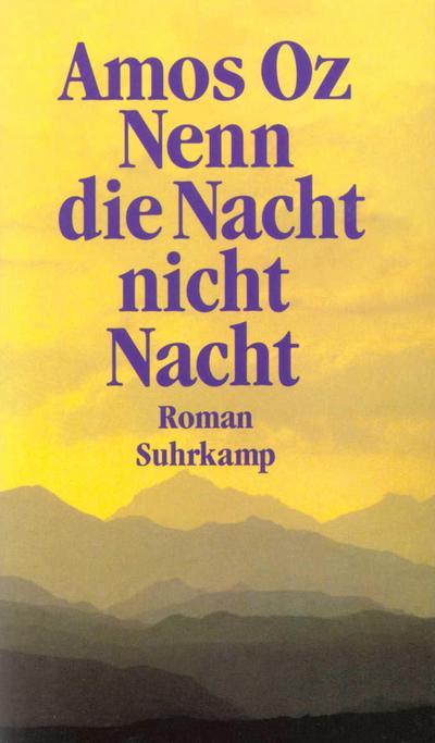 Nenn die Nacht nicht Nacht: Roman