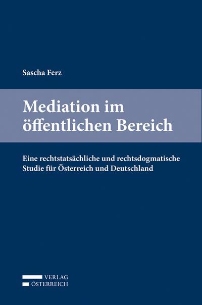Mediation im öffentlichen Bereich