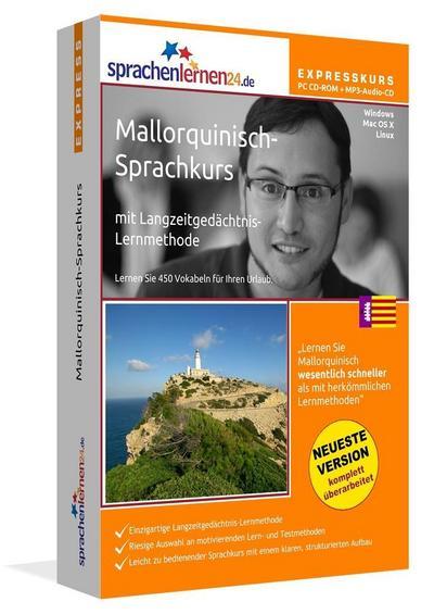 Sprachenlernen24.de Mallorquinisch-Express-Sprachkurs. CD-ROM