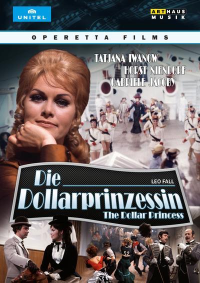 Die Dollarprinzessin / The Dollar Princess, 1 DVD